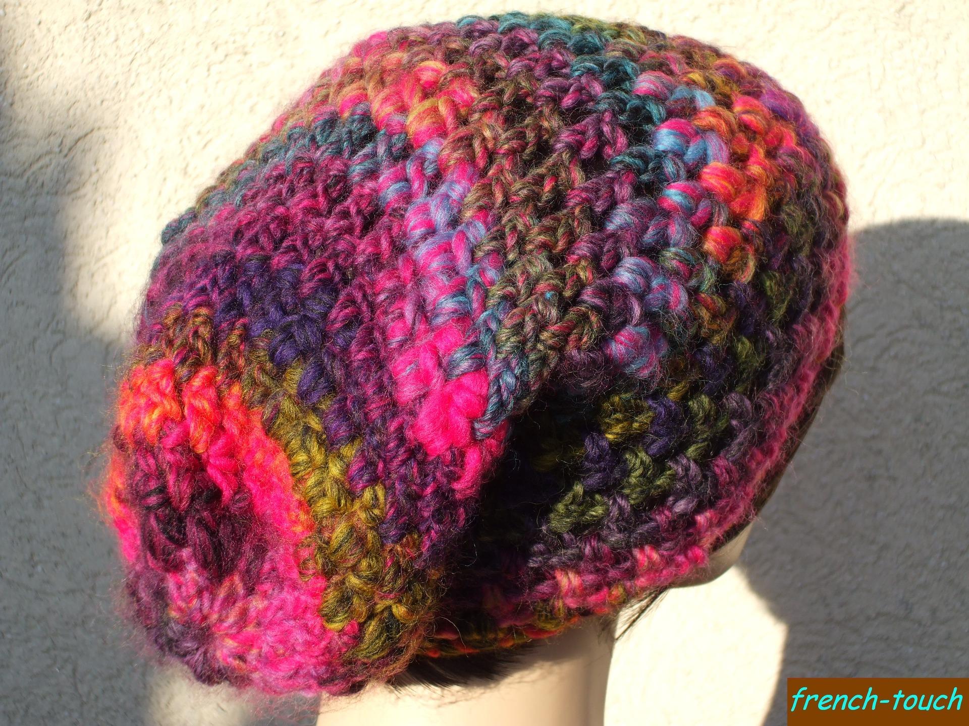 Confection de bonnet en laine   Espaceflirey 84aef5c1364