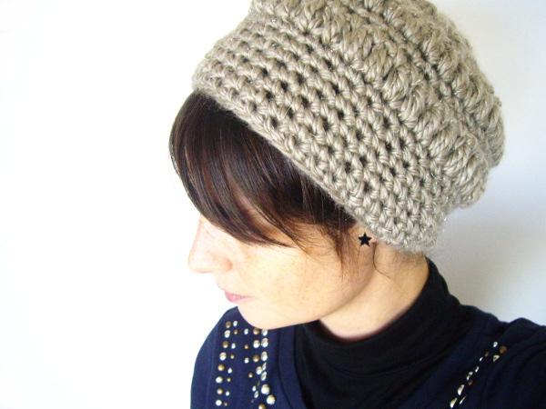 9a1f084aa38d bonnet crochet grosse laine