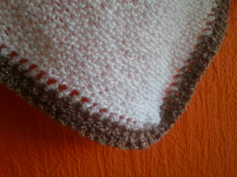 bordure crochet laine
