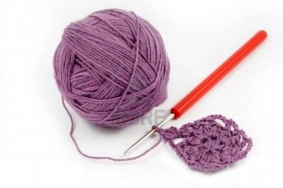 crochet avec la laine