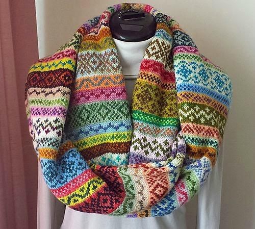 crochet avec reste de laine