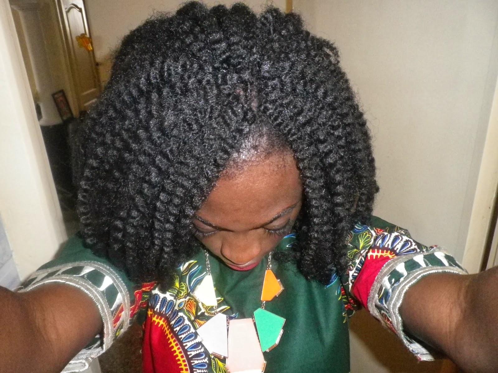 crochet braids avec laine