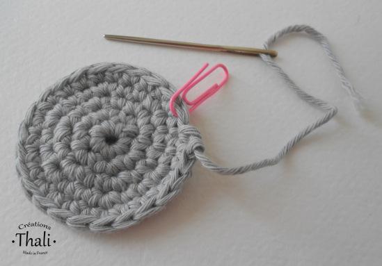 crochet changement laine