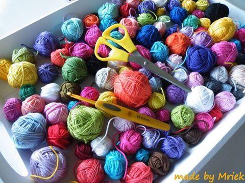 crochet chute de laine