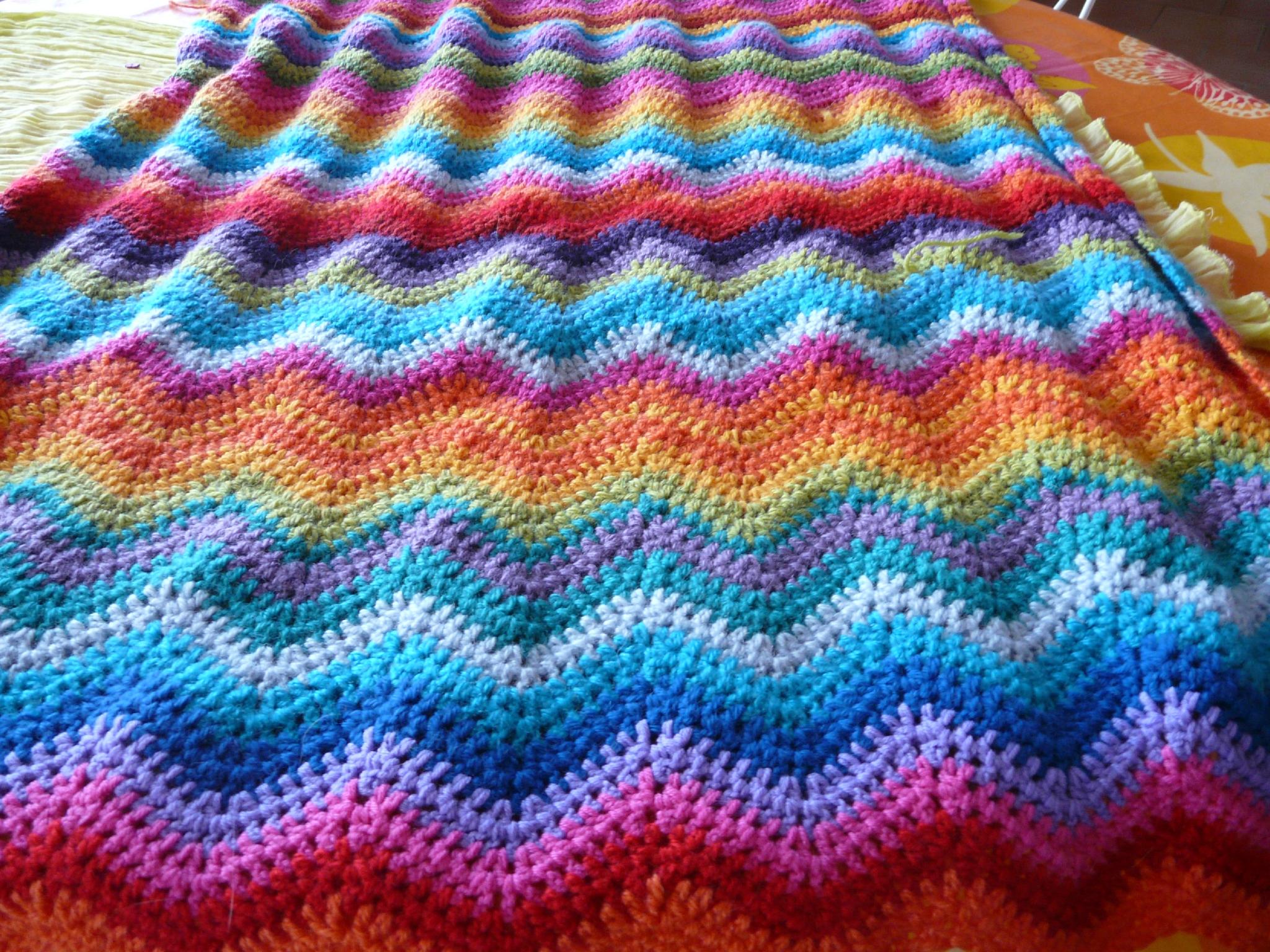crochet de laine