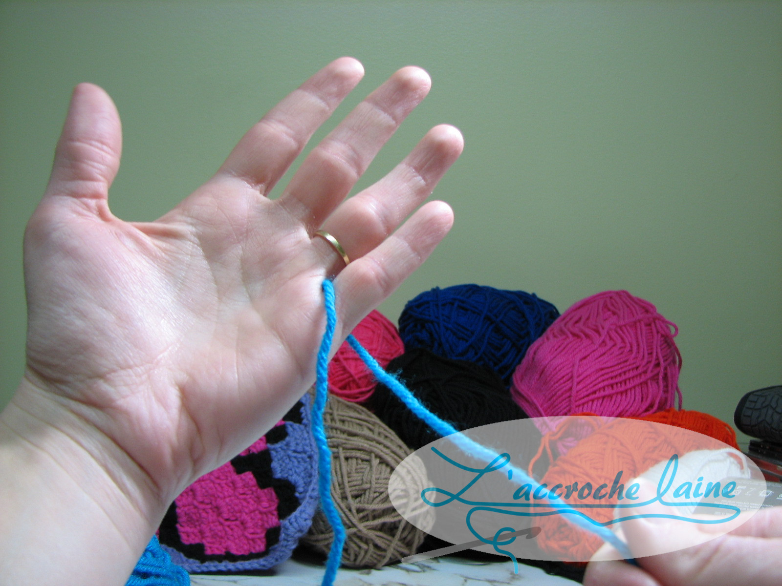 crochet laine apprendre