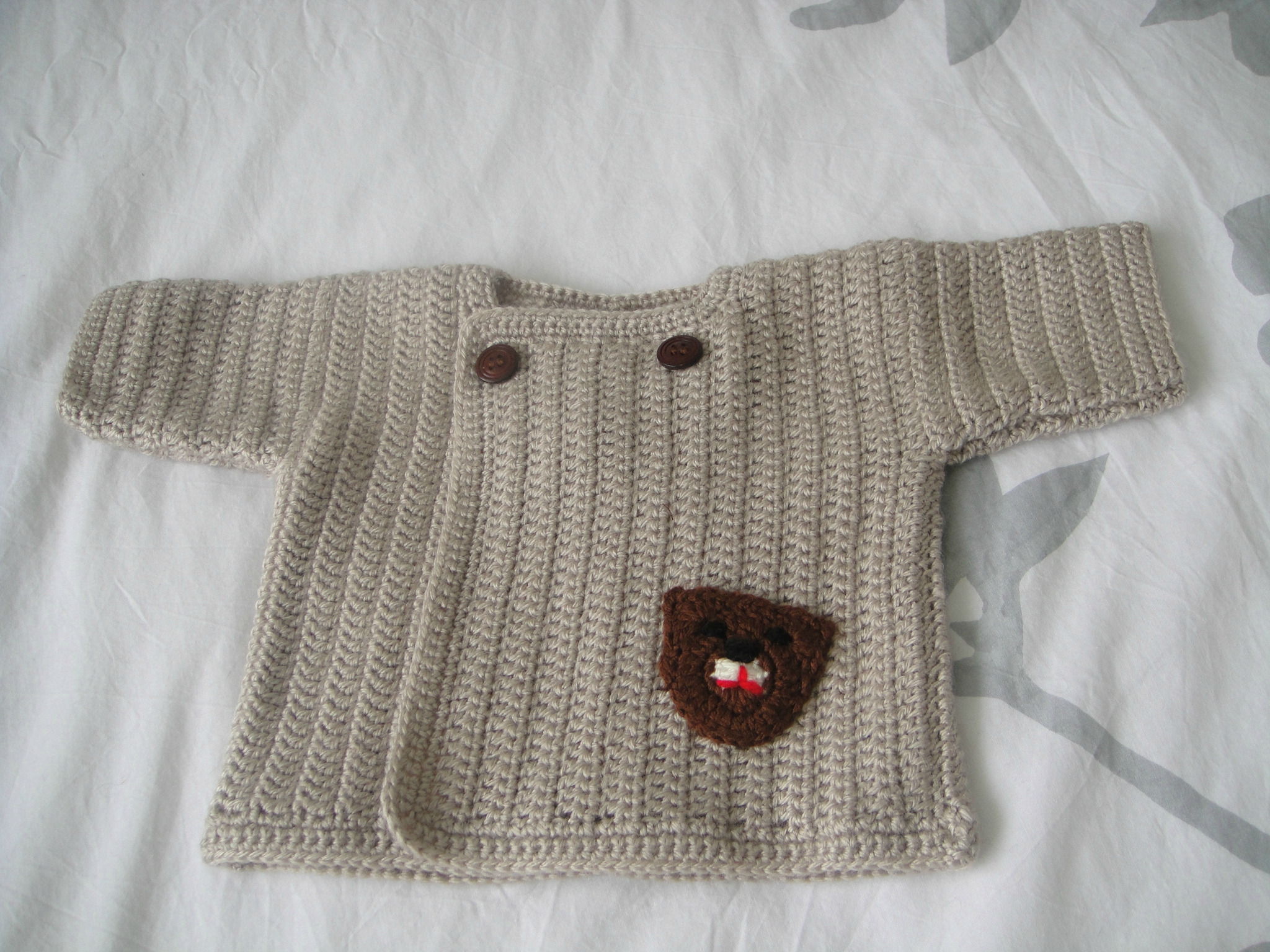 crochet laine bebe