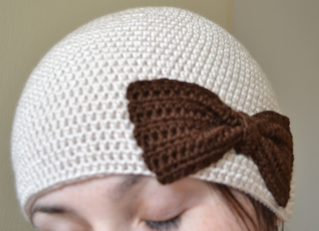 crochet laine bonnet
