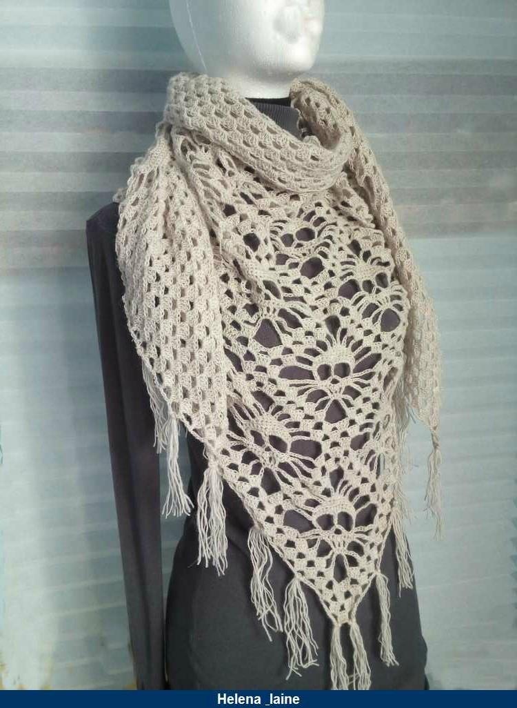 crochet laine fine