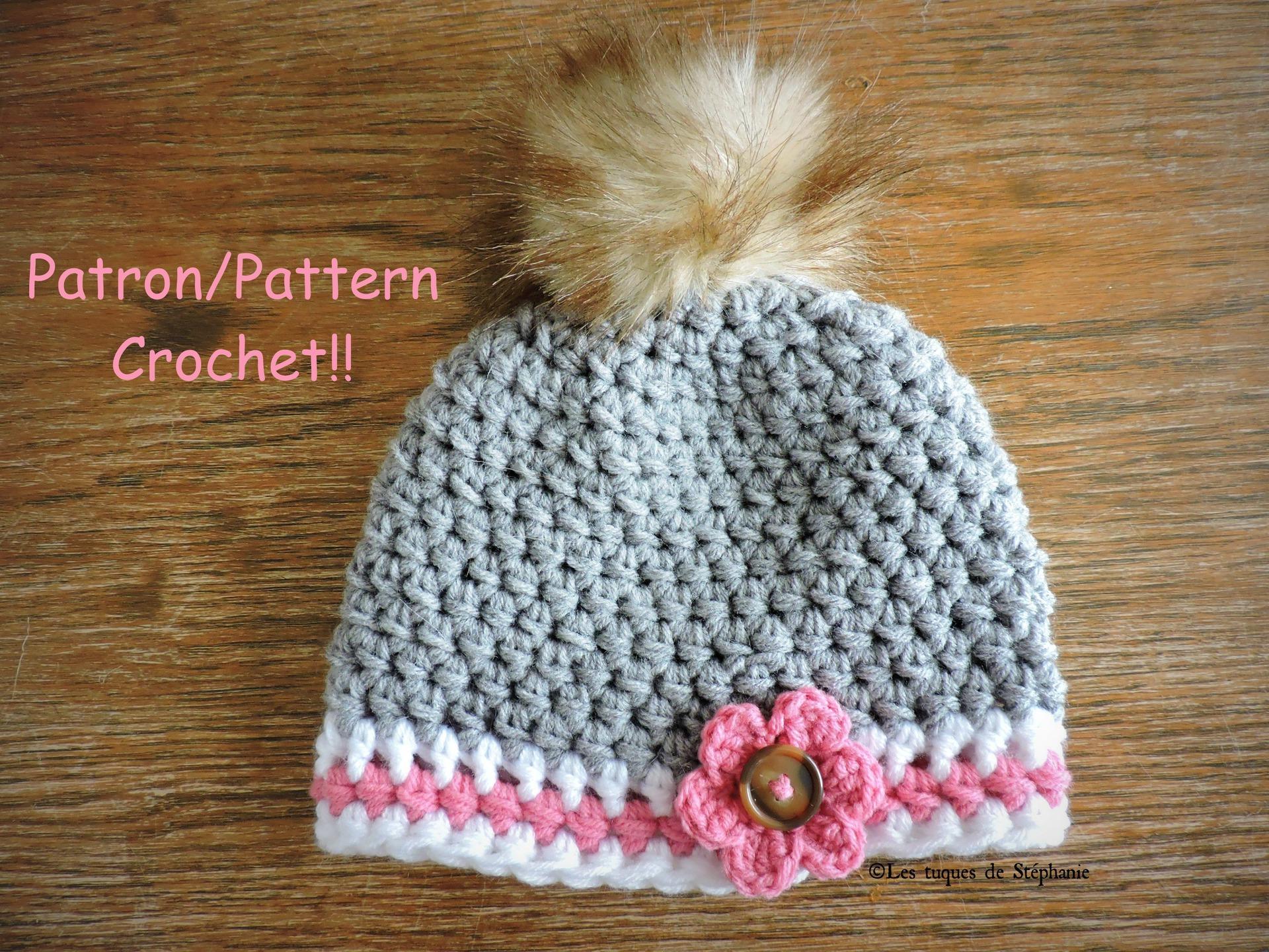 crochet laine fourrure