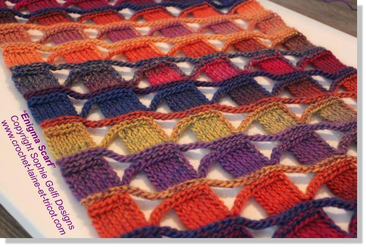 crochet laine modele