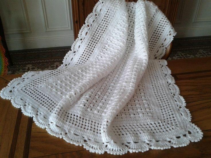 crochet laine naturelle