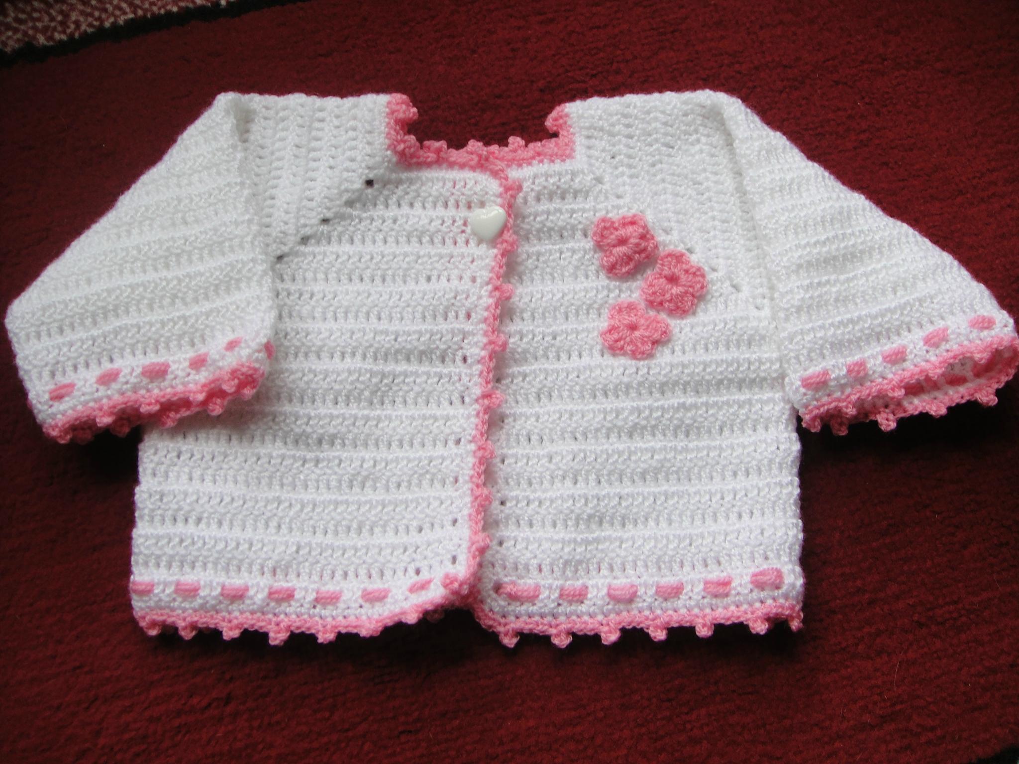 crochet laine pour bebe