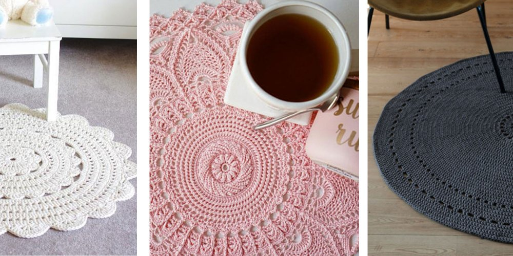 crochet pour tapis en laine