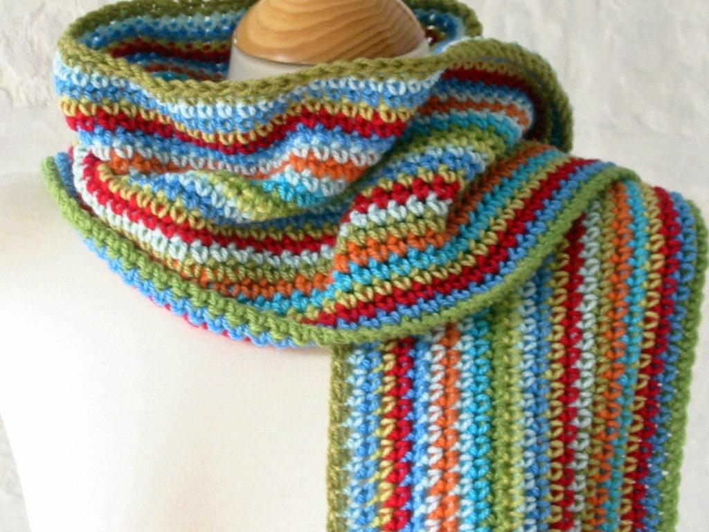 crochet reste de laine