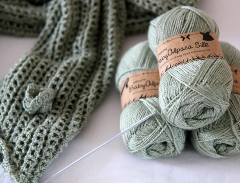 diy crochet laine