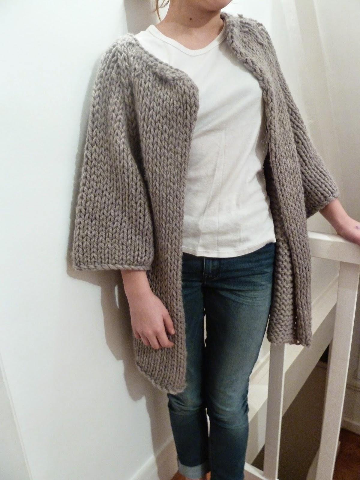 Gilet laine crochet   Espaceflirey 9c090fe3f4e