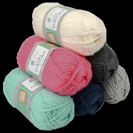 laine a tricoter action