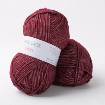 laine a tricoter bordeaux