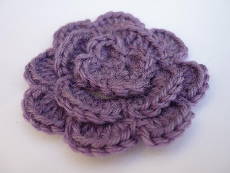 laine a tricoter fleur