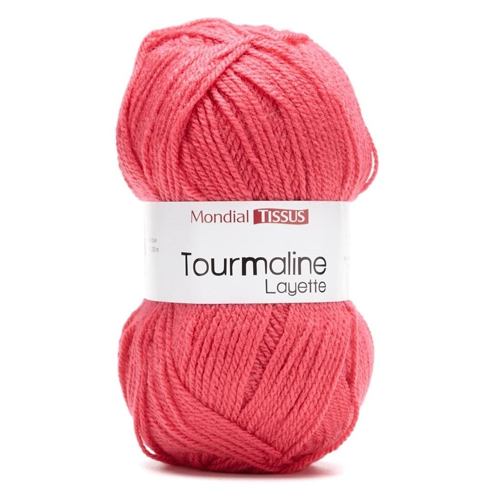 laine a tricoter fushia