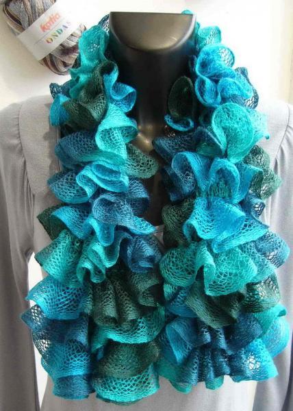 laine a tricoter katia pour echarpe