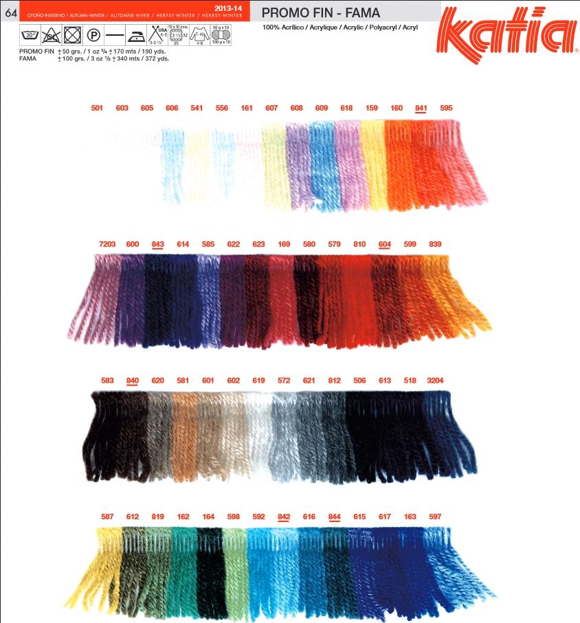 laine a tricoter katia promo fin