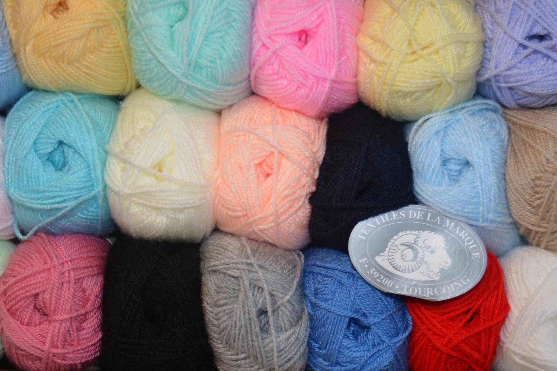 laine a tricoter moins cher