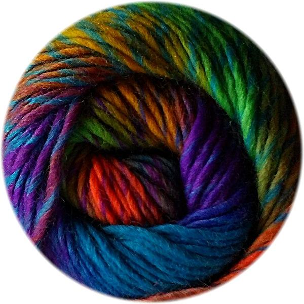laine a tricoter multicolore