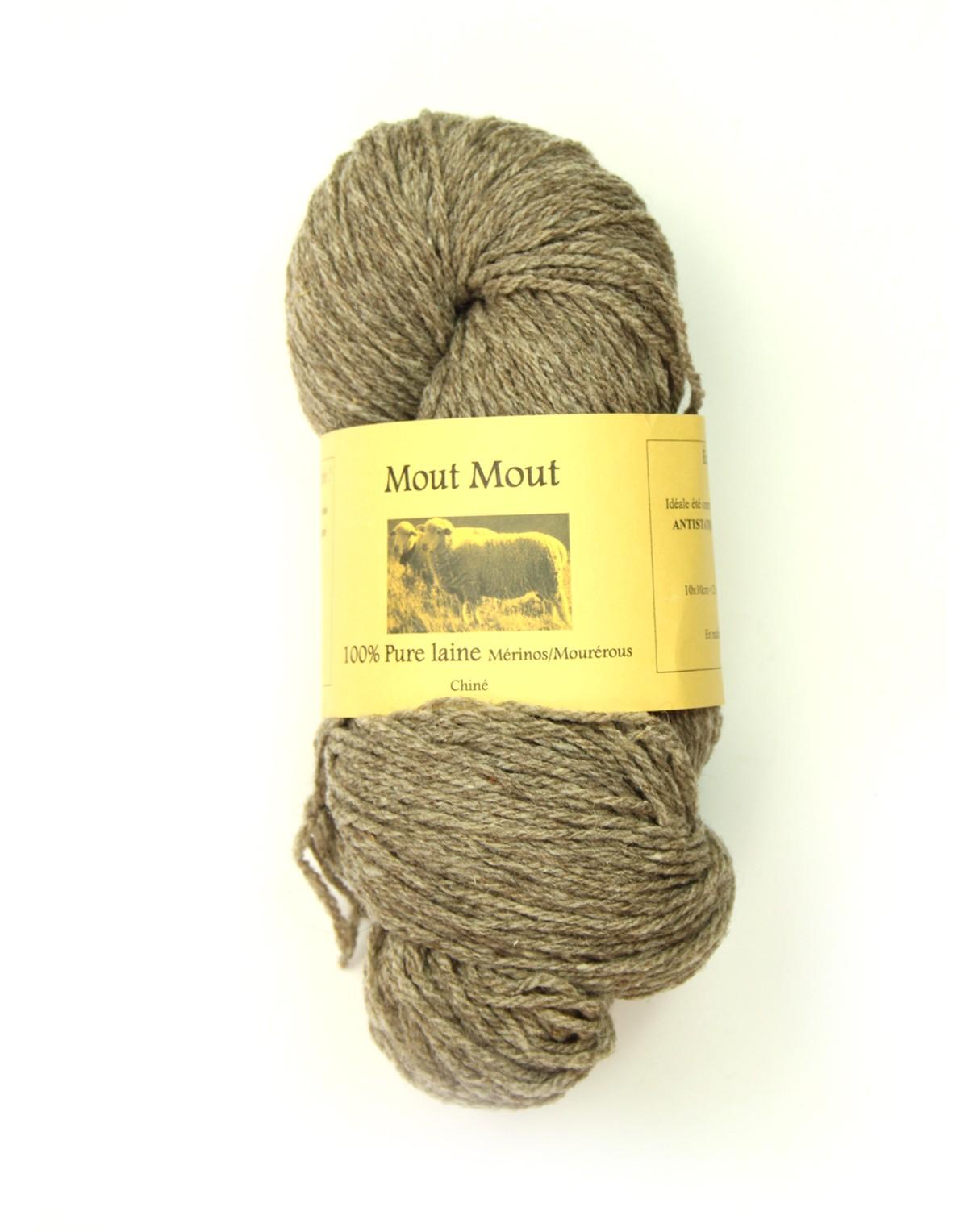 laine a tricoter naturelle
