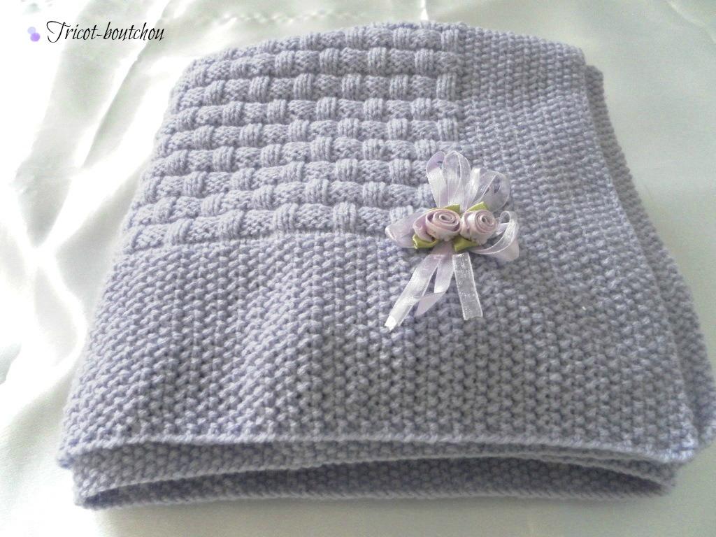 laine a tricoter pour couverture bebe