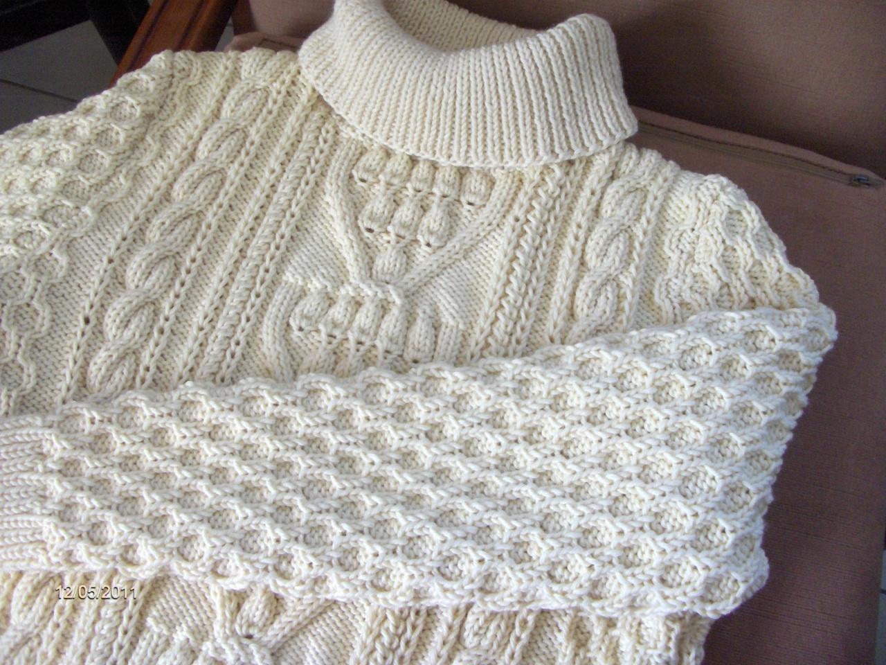 laine a tricoter pour pull irlandais 88359db0277
