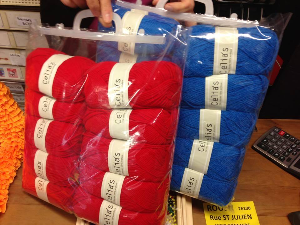 laine a tricoter rouen