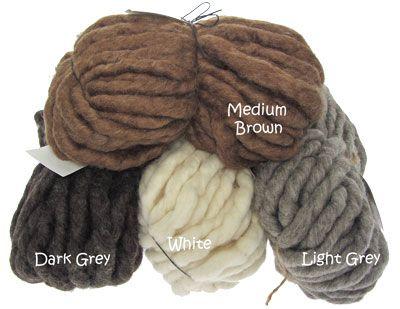 laine a tricoter tres epaisse