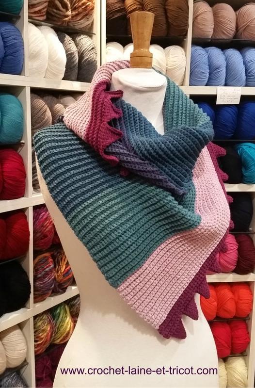 laine a tricoter vichy