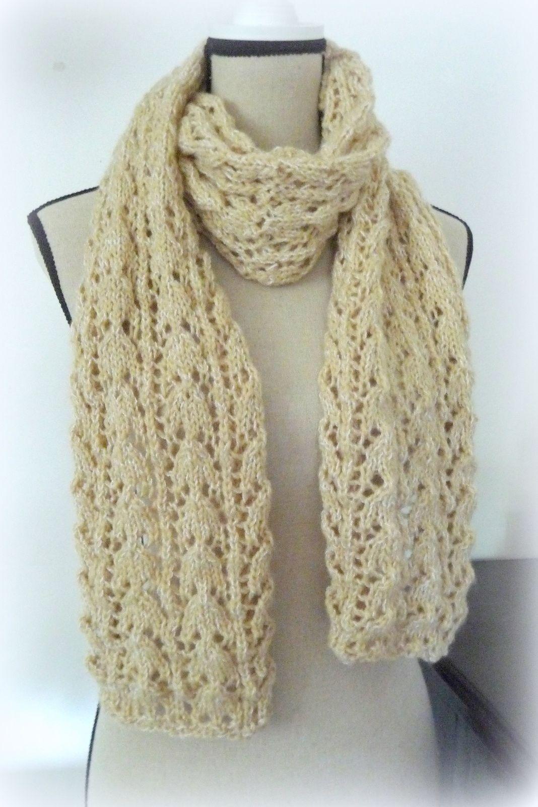laine bergere de france pour echarpe