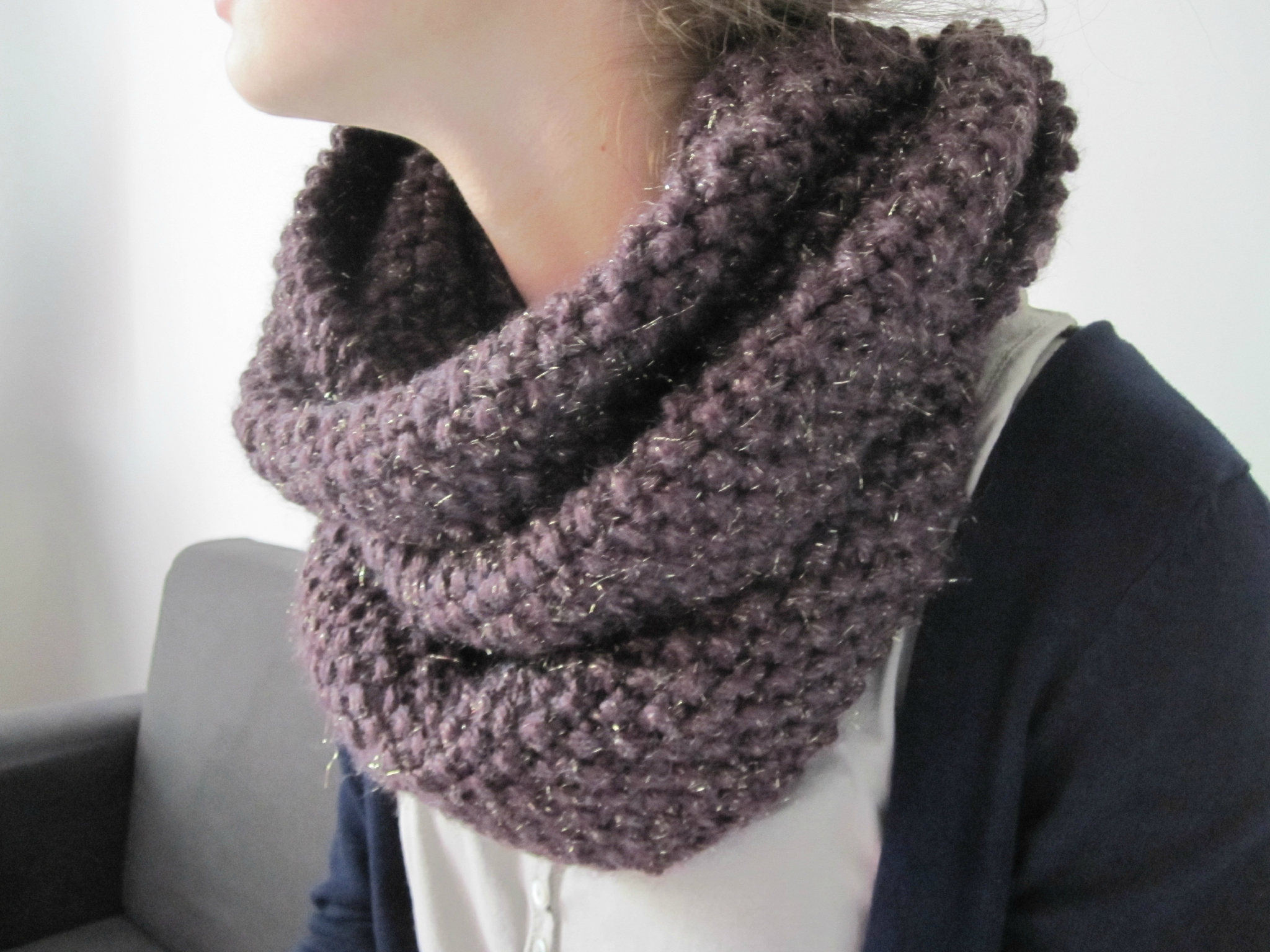 laine bergere de france pour snood