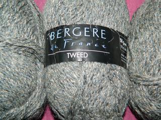 laine bergere de france tweedine