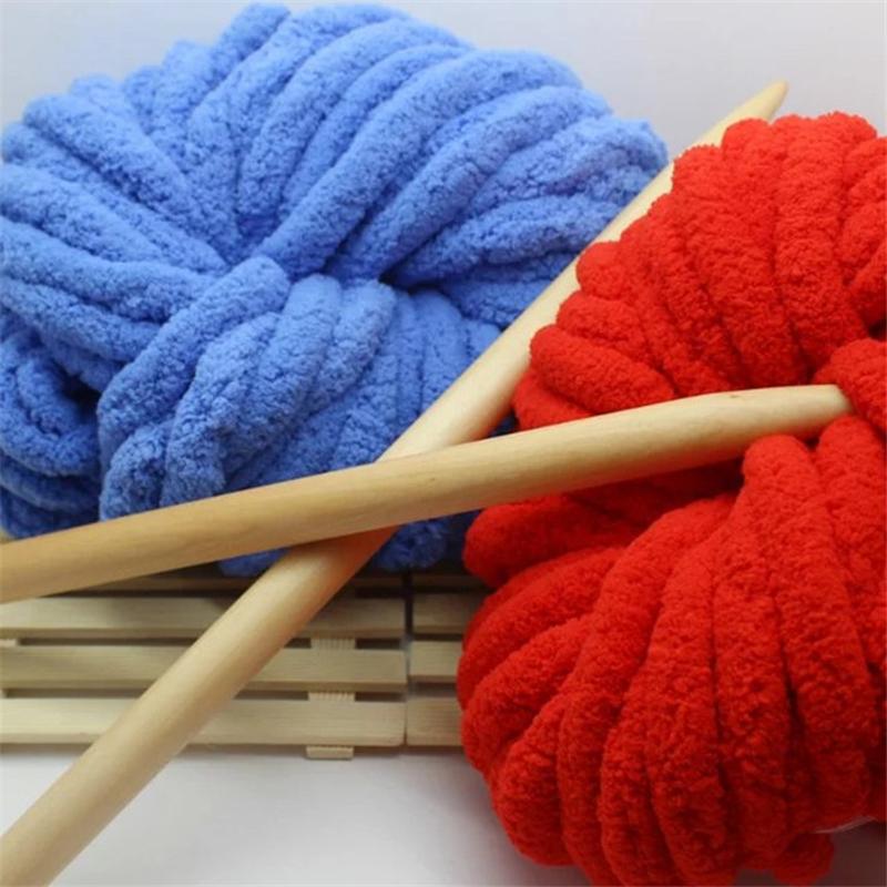 laine crochet geant