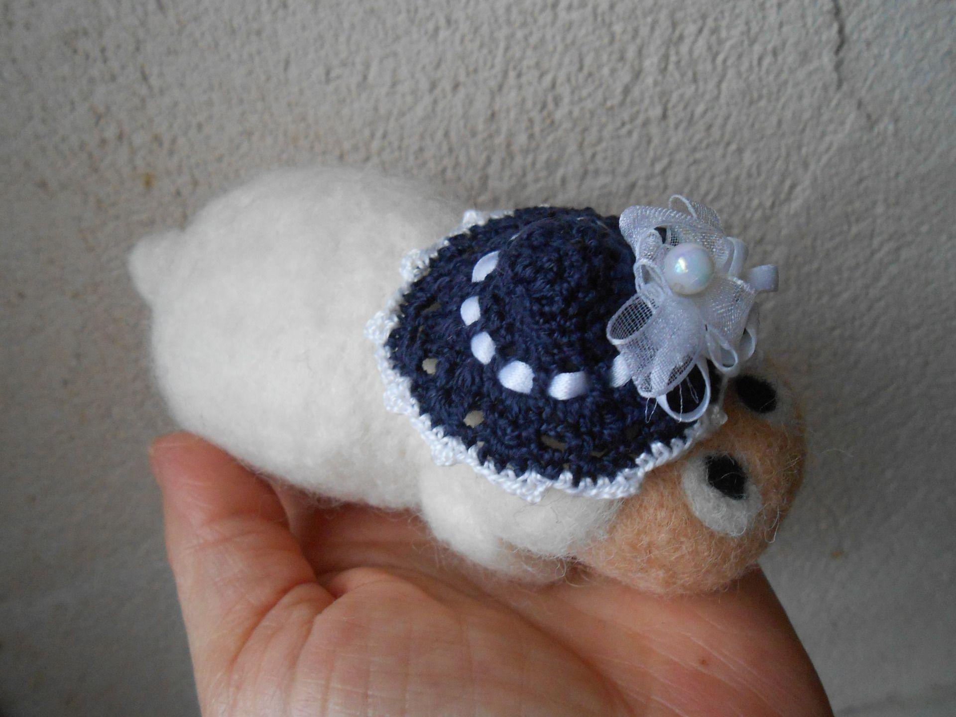laine feutree crochet