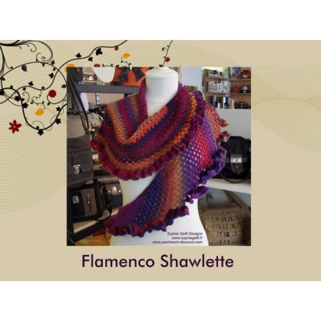 laine flamenco crochet