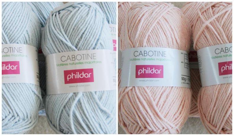 laine phildar cabotine