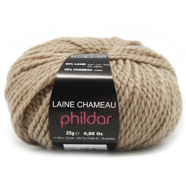 laine phildar chameau
