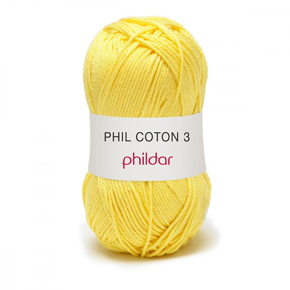 laine phildar coton