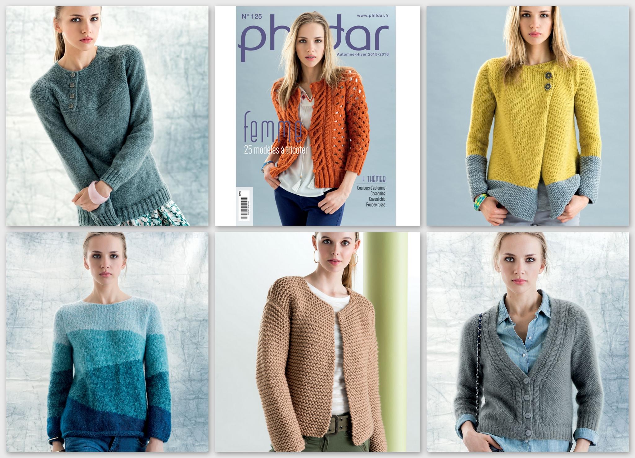 laine phildar et catalogue