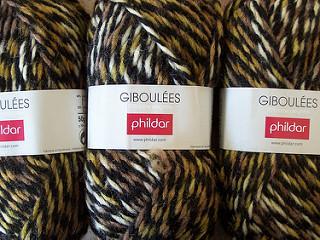laine phildar giboulees