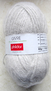 laine phildar givre turquoise