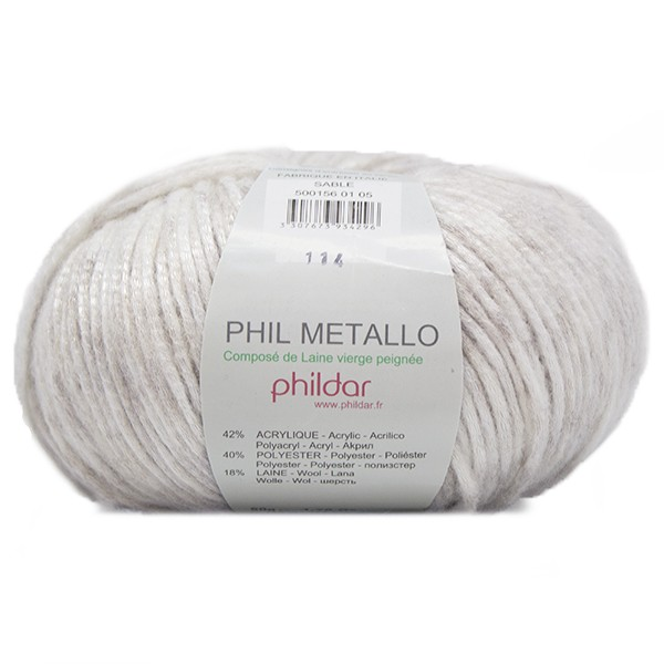 laine phildar metallo