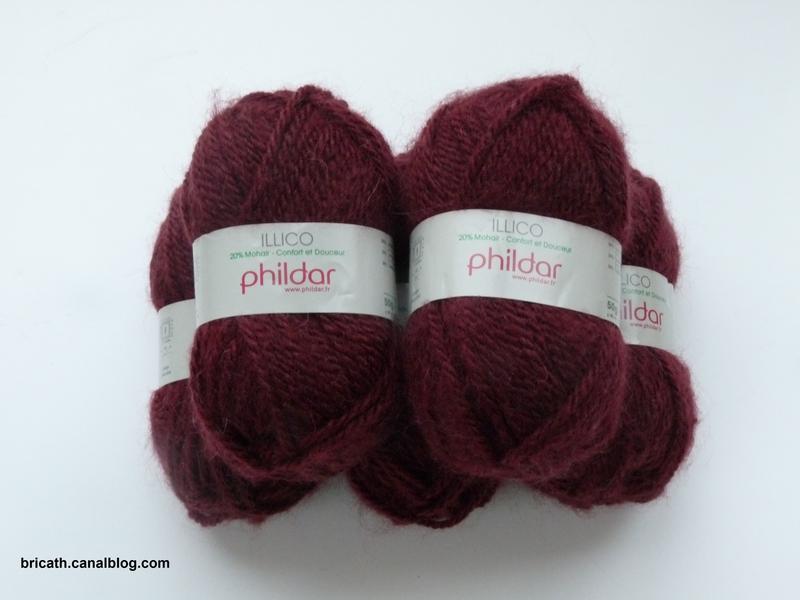 laine phildar modele illico