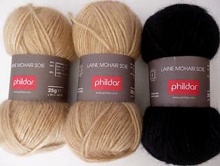 laine phildar mohair et soie